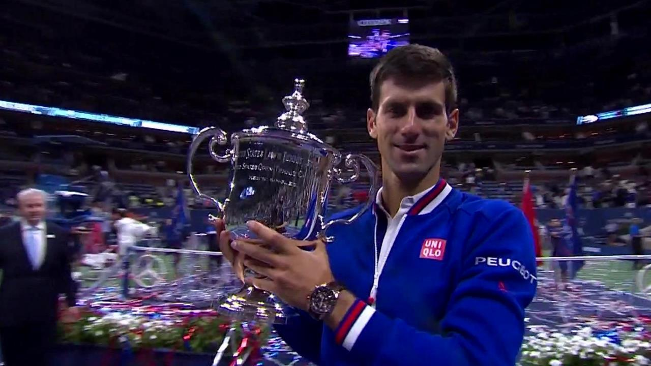 play video Djokovic vs. Federer