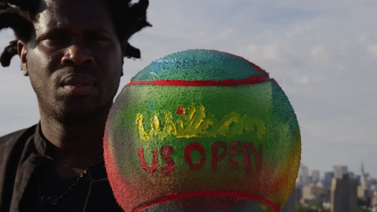 play video Bradley Theodore: US Open Muralist