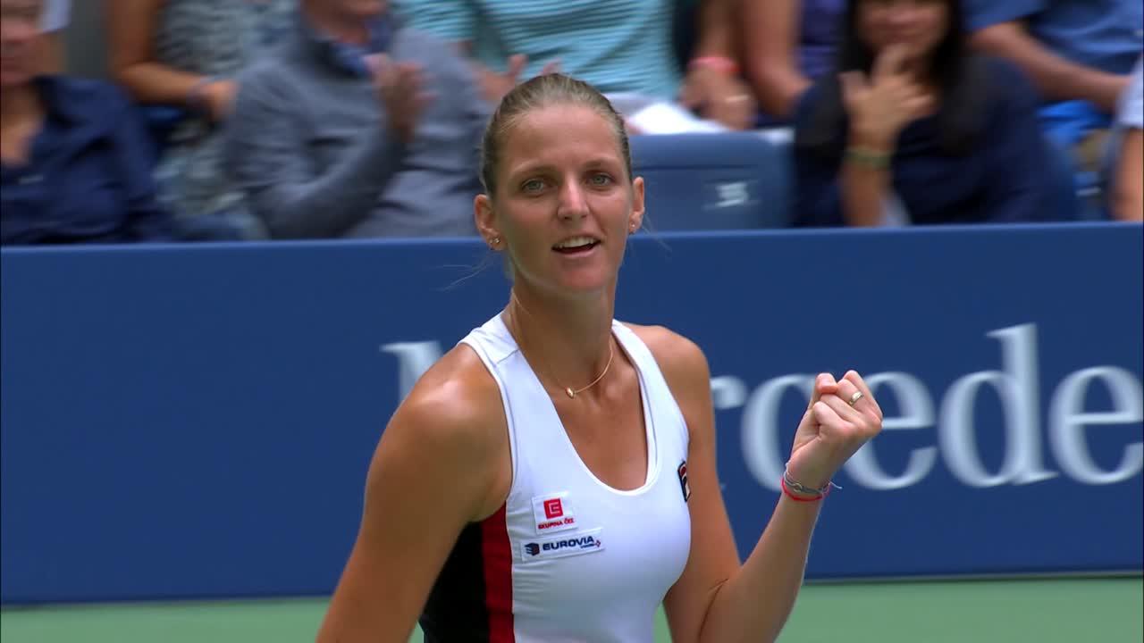 play video Match of the Day: Karolina Pliskova vs. Venus Williams