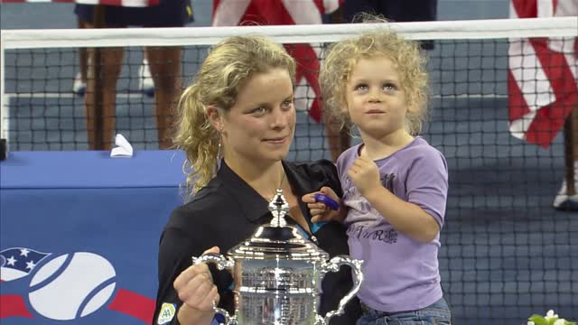 play video 2017 Hall of Fame: Kim Clijsters
