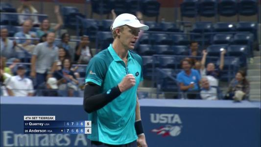 play video Cognitive Highlight: Kevin Anderson - Quarterfinal