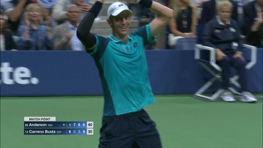 play video Cognitive Highlight: Kevin Anderson - Semifinal