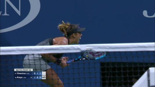 play video Cognitive Highlight: Madison Keys - Round 3
