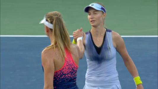 play video Makarova vs. Barthel