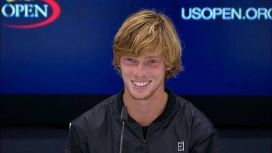play video Andrey Rublev Interview