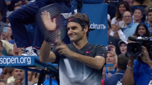play video Federer vs. Kohlschreiber