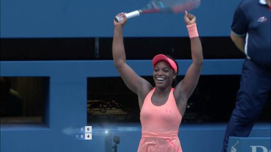 play video Sevastova vs. Stephens