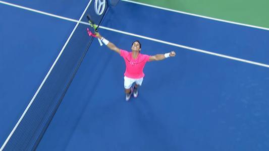 play video Nadal vs. Rublev