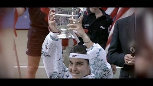 play video 50 for 50: Arantxa Sánchez Vicario, 1994 women's singles champion