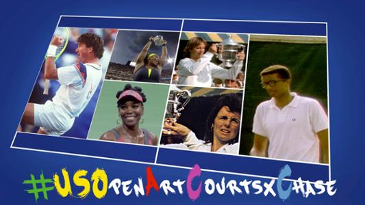 play video US Open Art Courts x Chase: Making a difference in local tennis communities