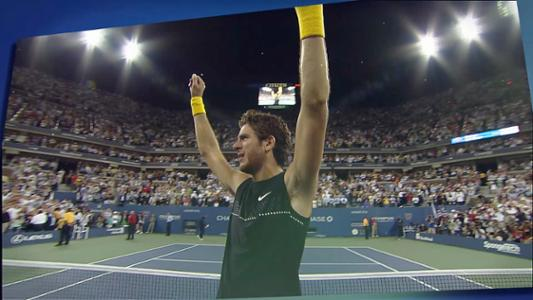 play video 50 Moments That Mattered: Del Potro edges Federer for 2009 title