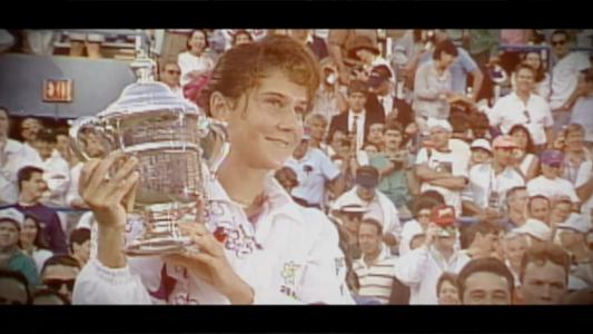 play video 50 for 50: Monica Seles, 1991 and 1992 women's singles champion