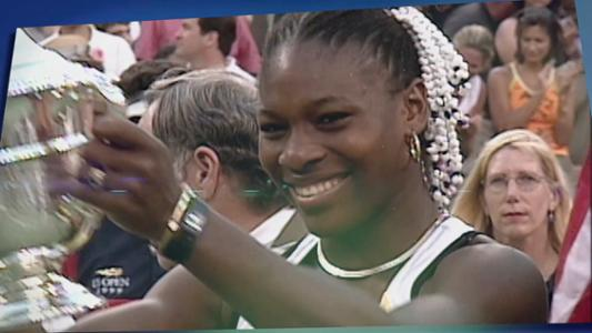 play video 50 Moments That Mattered: Serena wins first US Open