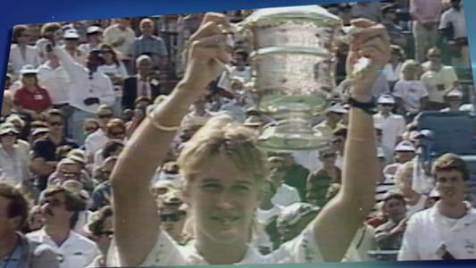 play video 50 Moments That Mattered: Graf makes history in 1988