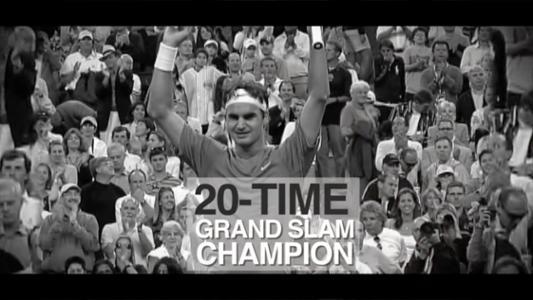 play video 50 for 50: Roger Federer, 2004-08 men's singles champion