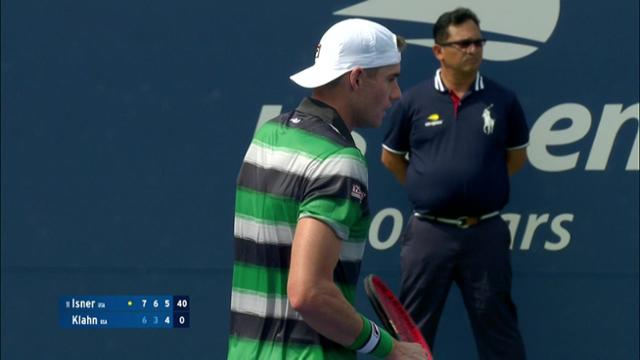 play video AI Player Highlight: John Isner - Round 1