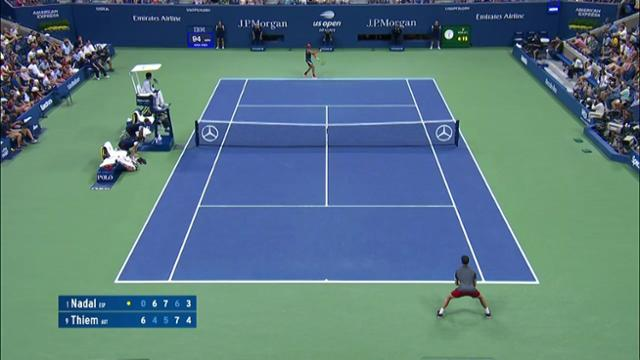 play video AI Match Highlight: Nadal vs. Thiem - QF