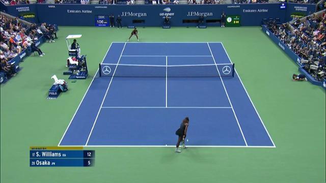 play video AI Match Highlight: Williams vs. Osaka - Final