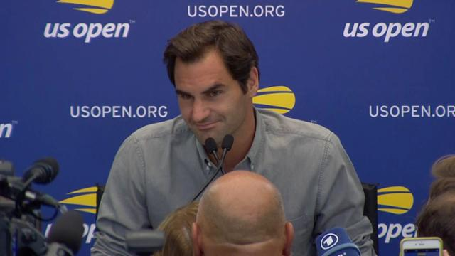 play video Media Day: Roger Federer Interview