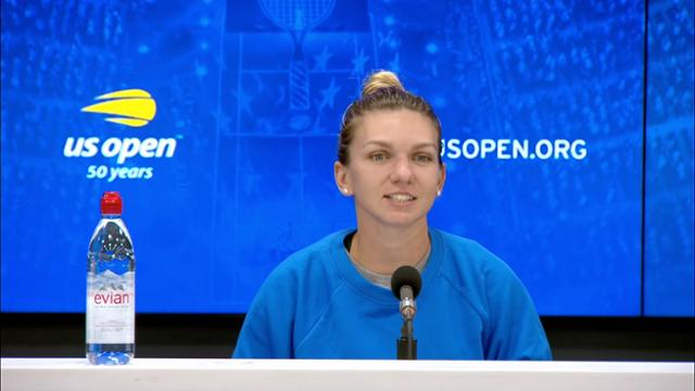 play video Press Conference: Simona Halep, Round 1