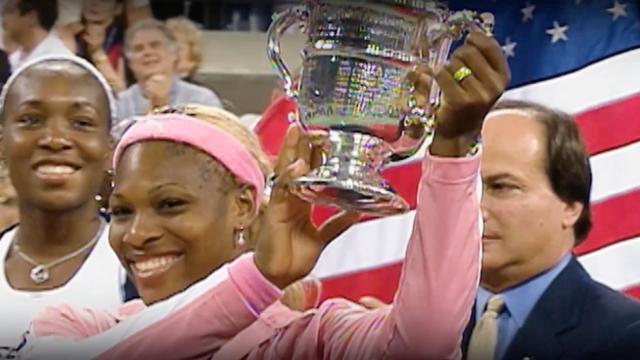play video US Open 50th Anniversary: Karolina Pliskova on Serena Williams