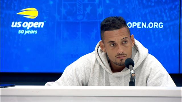play video Press Conference: Nick Kyrgios, Round 2