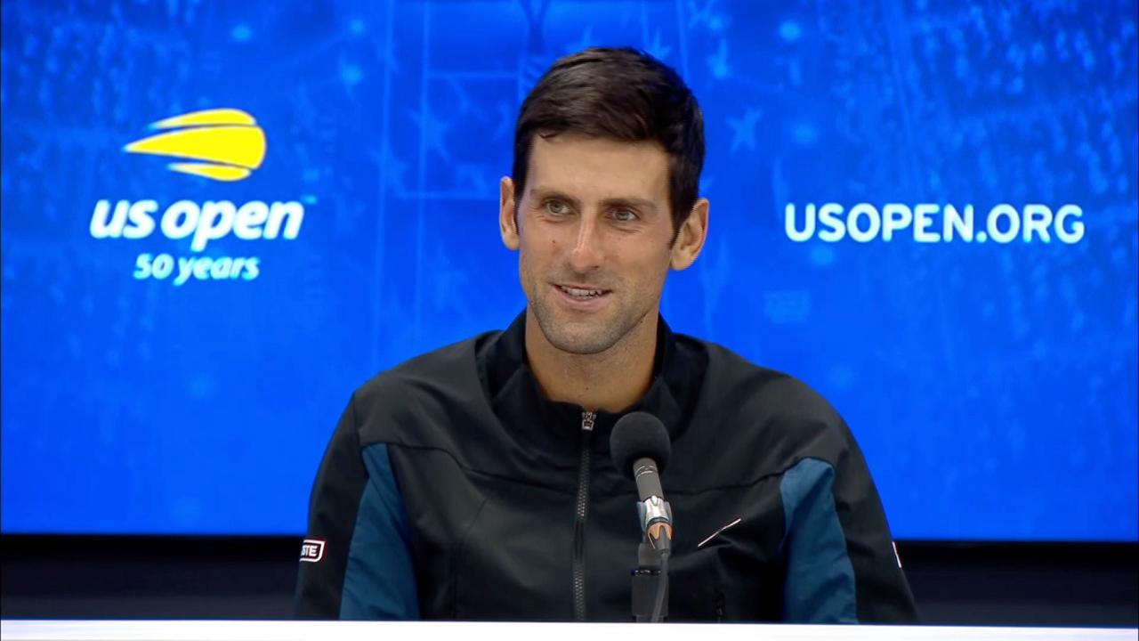 Interview Novak Djokovic Round 2 Official Site Of The 2020 Us Open Tennis Championships A Usta Event