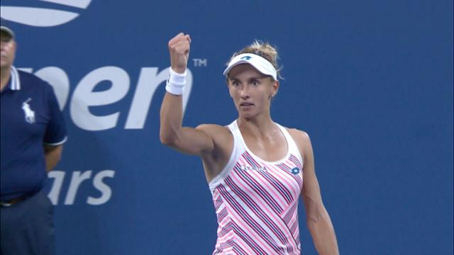 play video Highlights: Lesia Tsurenko vs. Caroline Wozniacki - Round 2