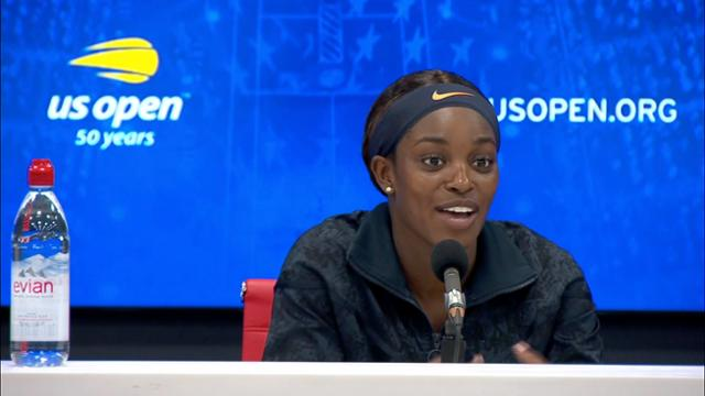 play video Press Conference: Sloane Stephens, Round 3