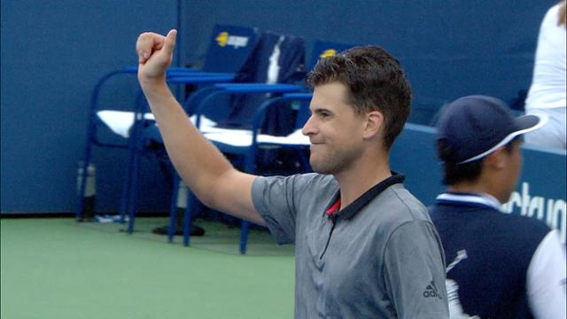 play video Highlights: Dominic Thiem vs Taylor Fritz - Round 3