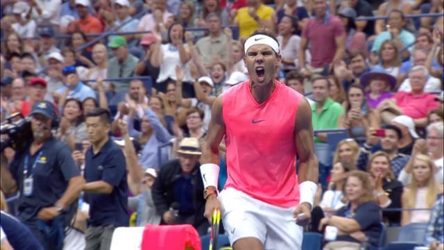 play video Highlights: Rafael Nadal vs. Karen Khachanov - Round 3