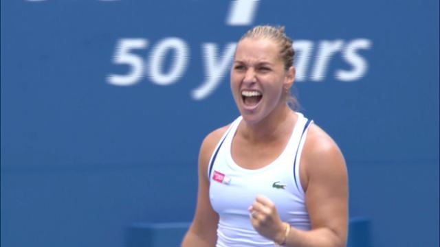 play video Highlights: Dominika Cibulkova vs. Angelique Kerber - Round 3