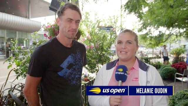 play video Melanies Minute: John Millman