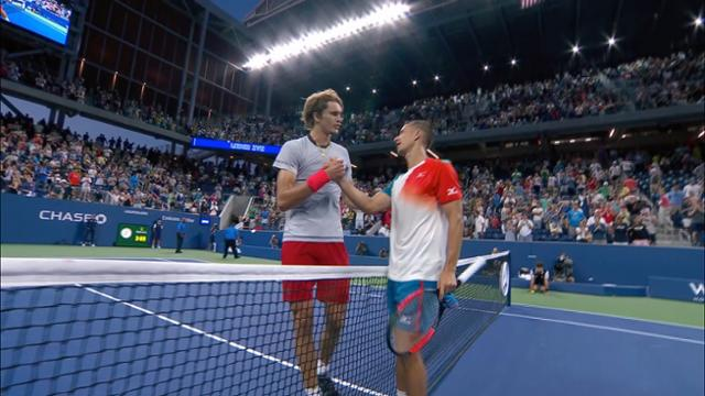 play video Highlights:Alexander Zverev vs. Philip Kohlschreiber, Round 3