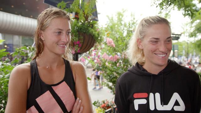 Melanies Minute Kristina Mladenovic And Timea Babos