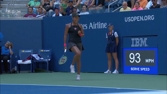 play video Highlights: Naomi Osaka vs. Aryna Sabalenka - Round 4