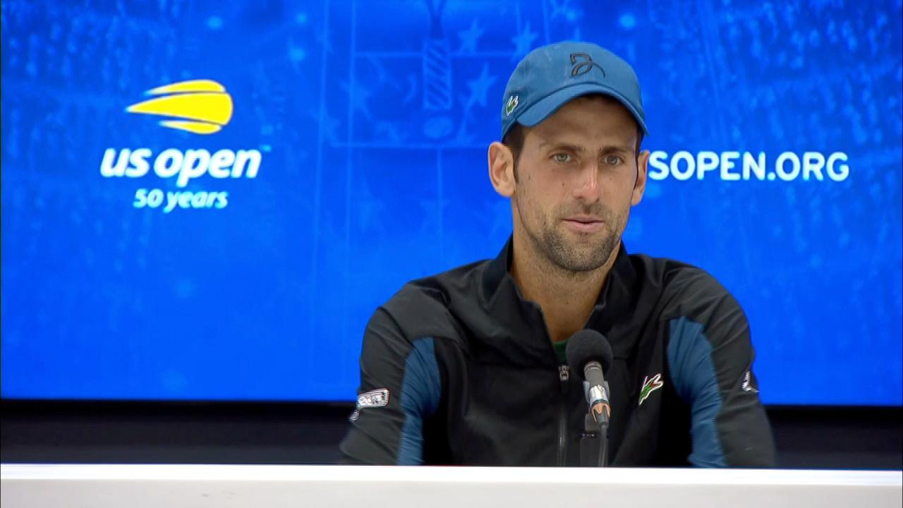 Interview Novak Djokovic Round 4 Official Site Of The 2020 Us Open Tennis Championships A Usta Event
