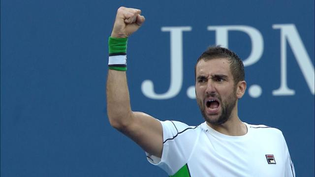 play video Highlights: Marin Cilic vs.David Goffin - Round 4