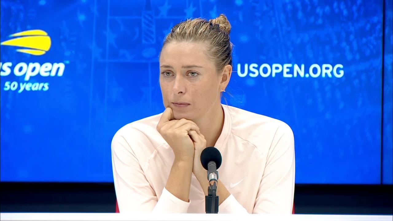 Sharapova Us Open 2021