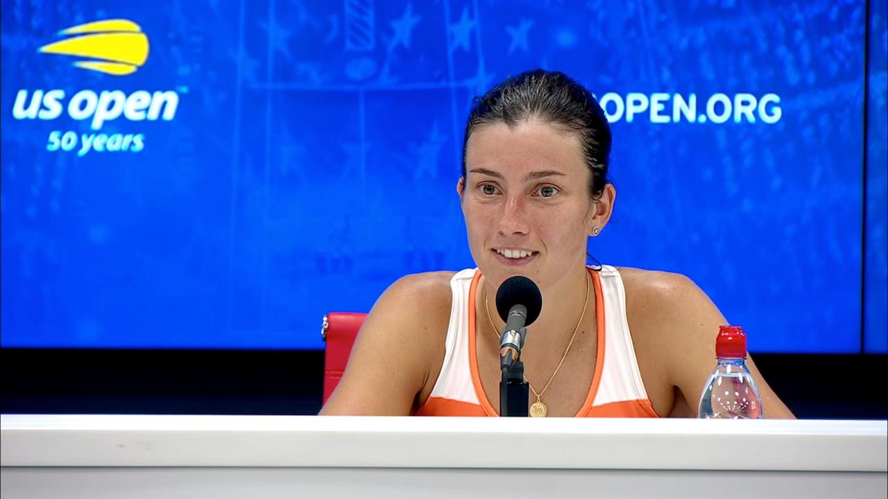 play video Press Conference: Anastasija Sevastova, Quarterfinals