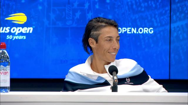 play video Press Conference: Francesca Schiavone