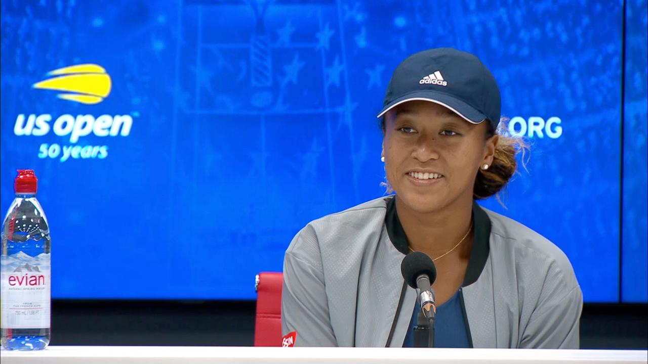 play video Press Conference: Naomi Osaka, Quarterfinal