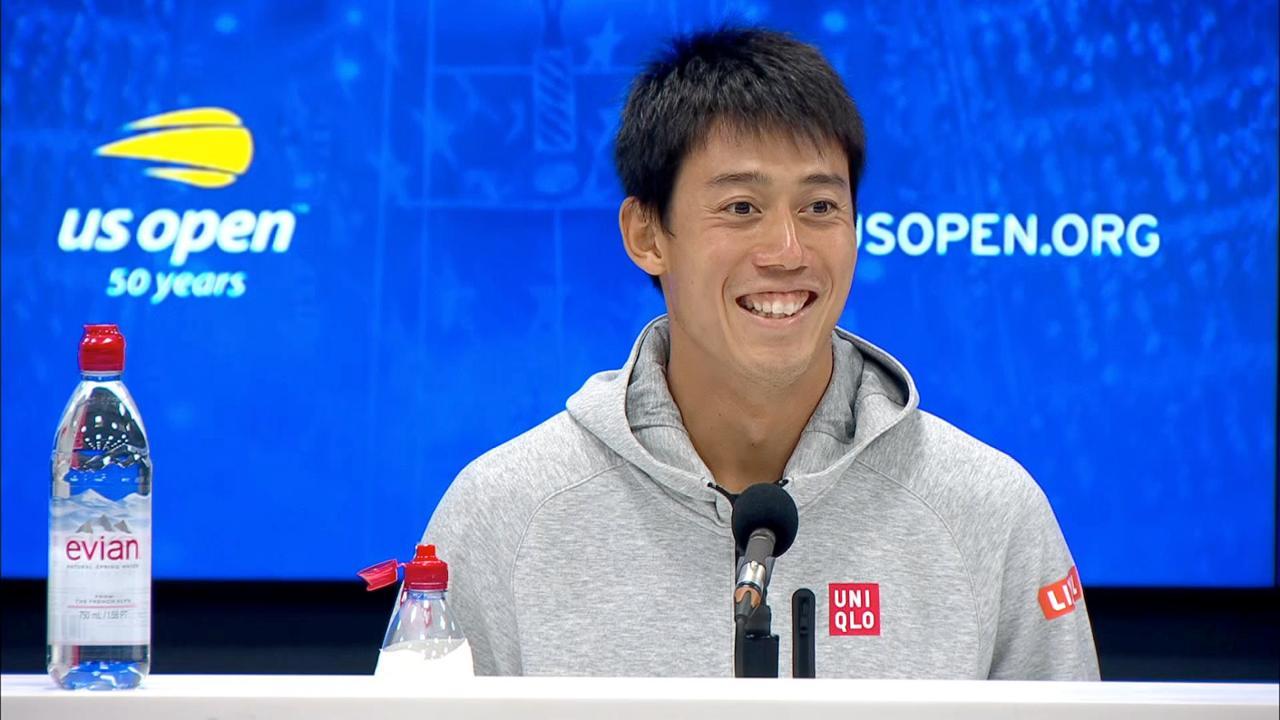 play video Press Conference: Kei Nishikori, Quarterfinals