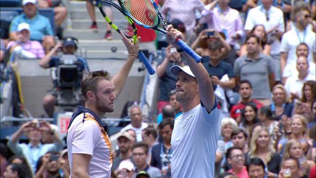 play video Highlights: Bryan and Sock vs Kubot and Melo