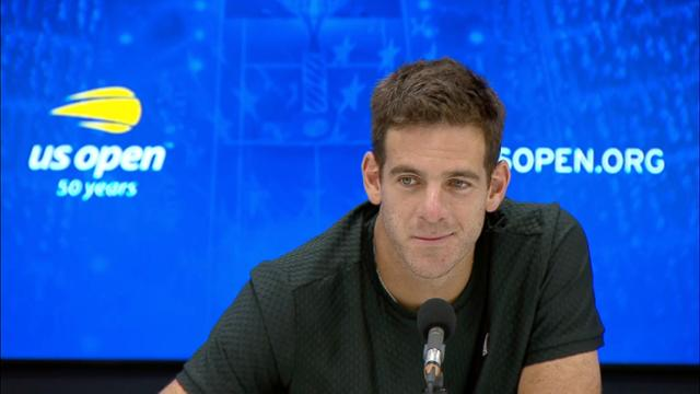 play video Press Conference: Juan Martin del Potro, Semifinals
