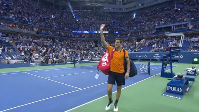 play video Highlight: Nadal vs. del Potro