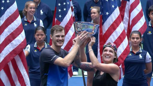 play video Highlights: Bethanie Mattek-Sands and Jamie Murray