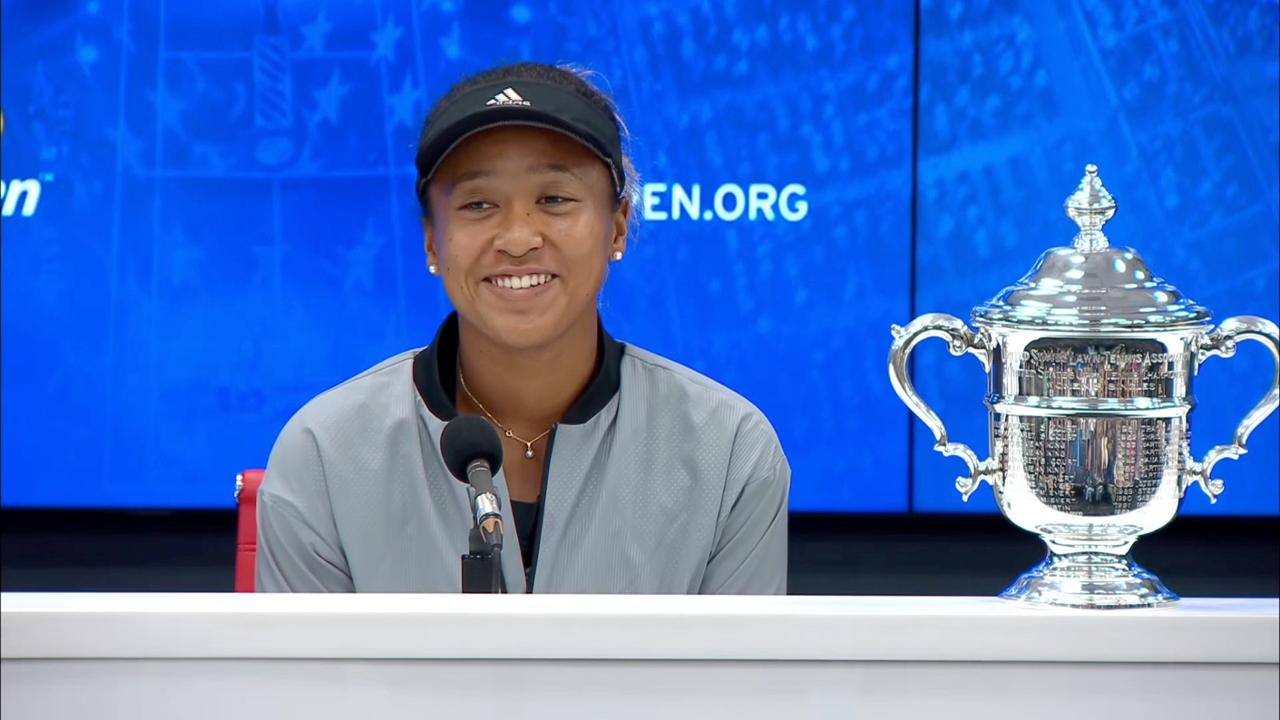 play video Press Conference: Naomi Osaka, Final