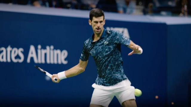 play video US Open Men's Final: Novak Djokovic