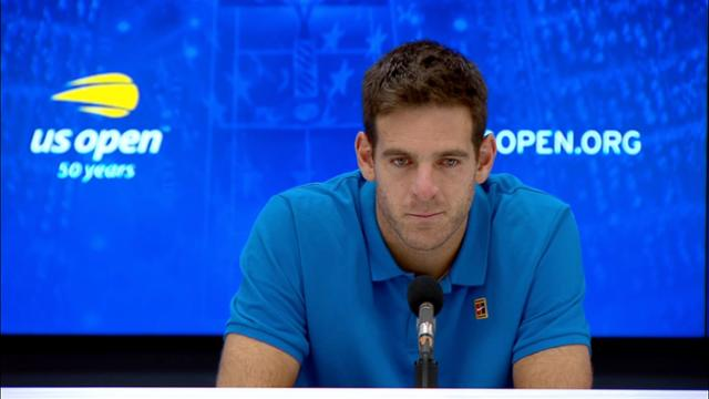 play video Press Conference: Juan Martin del Potro, Final